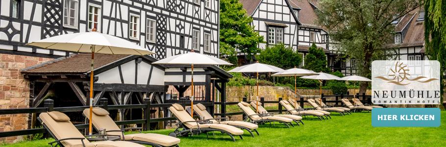 Romantik Hotel Neumühle, Banner