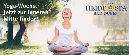 TOP CountryLine HEIDE SPA Hotel & Resort, Yoga Woche, Frau