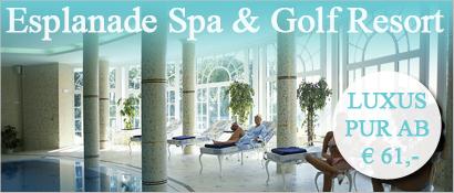 Wellness, Esplanade Spa & Golf, Resort