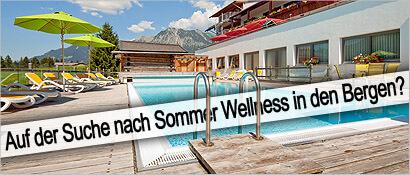 Sommer Wellness, Hotel Oberstdorf, Berge, Wellness-Opening