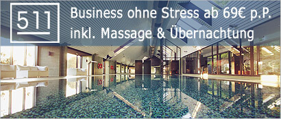 POZIOM 511 Design Hotel & SPA, Wellness, Pool, Business ohne Stress