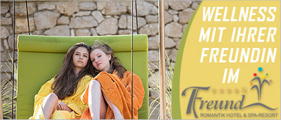 Wellness, Romantik Hotel Freund & SPA-Resort