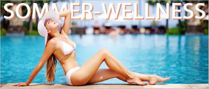 Sommer-Wellness, Wellnessfinder, Themen-Special