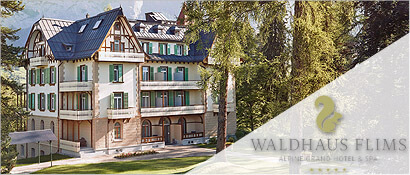 Wellness, WALDHAUS FLIMS Alpine Grand Hotel & Spa, Bergwelt