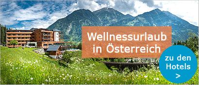 Wellness in Österreich, Berge, Alpen