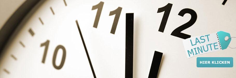 Last Minute, Kurz vor 12, Wellness, Angebote, Urlaub, Spontan