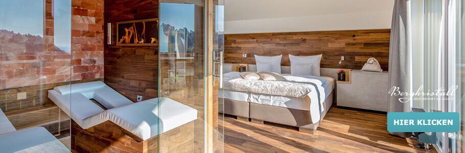 Wellness, Suite, Bergkristall – Mein Resort im Allgäu