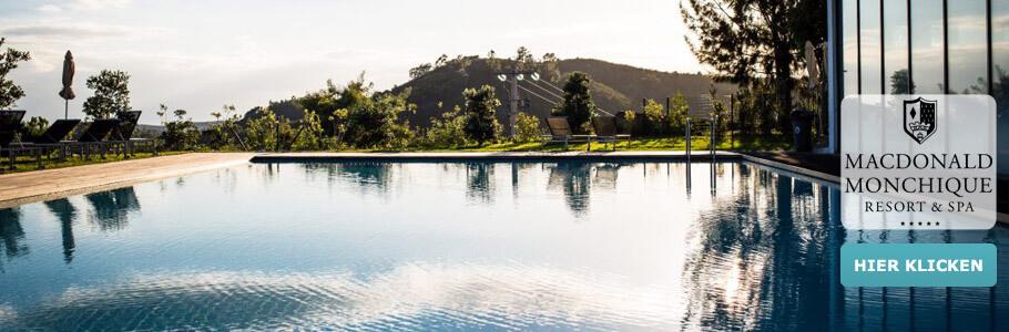 Wellness, Algarve. Außenpool, Natur, Macdonald Monchique Resort & Spa