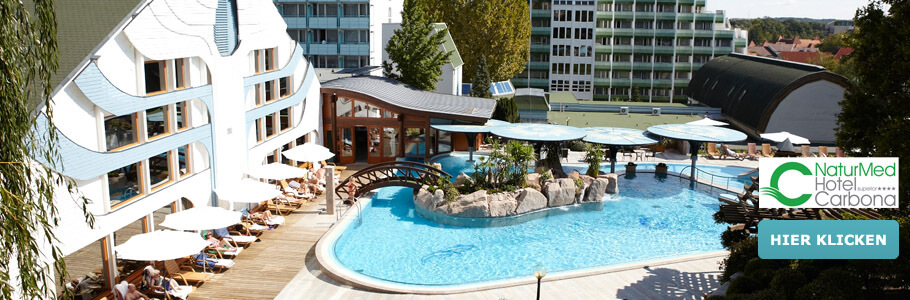 Wellness, Naturmed Hotel Carbona, Ungarn, Außenpool