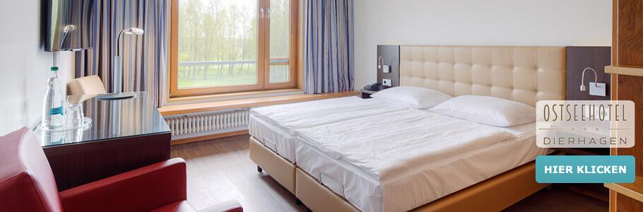 Wellness, Doppelzimmer, Ostseehotel Dierhagen