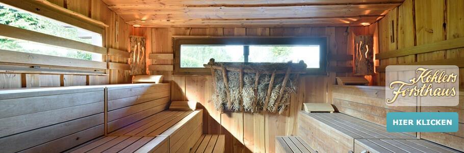 Wellness, Sauna, Ringhotel Köhlers Forsthaus