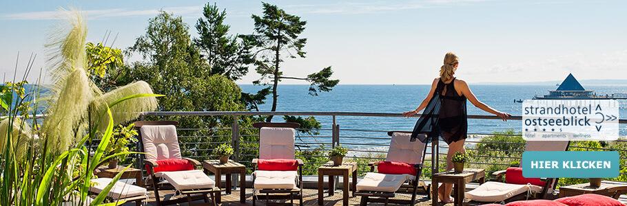 Wellness, Meer, Ausblick, Strandhotel Ostseeblick