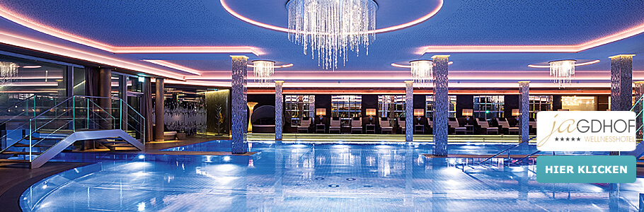 Luxus & Wellness im 5‐Sterne‐Hotel Jagdhof, Wellnesshotel Jagdhof, Pool