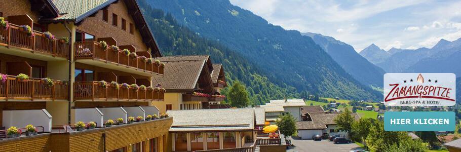Wellness, Berge, BergSPA & Hotel Zamangspitze