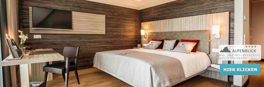 Wellness, Hotelzimmer, Bio- & Wellnesshotel Alpenblick