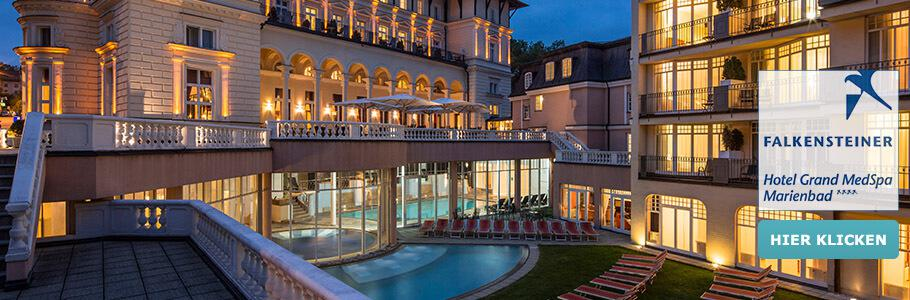 Wellness, Innenhof, Falkensteiner Hotel Grand Spa Marienbad