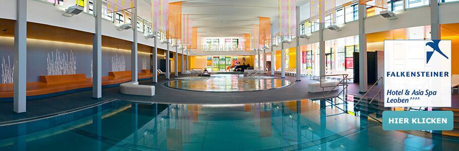 Wellness, Innenpool, Falkensteiner Hotel & Asia Spa Leoben