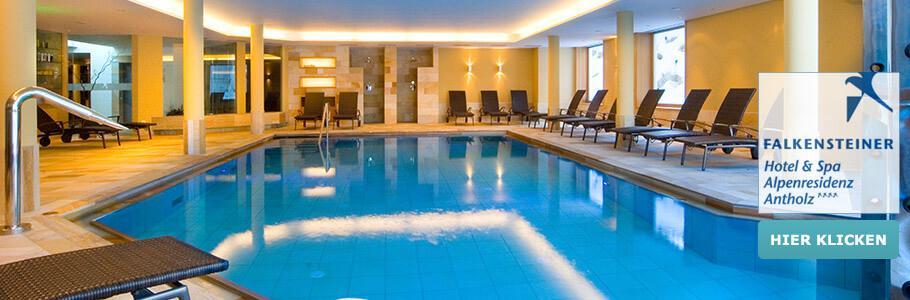 Wellness, Innenpool, Falkensteiner Hotel & Spa Alpenresidenz Antholz