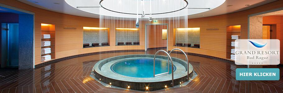 Wellness, Becken, Grand Resort Bad Ragaz