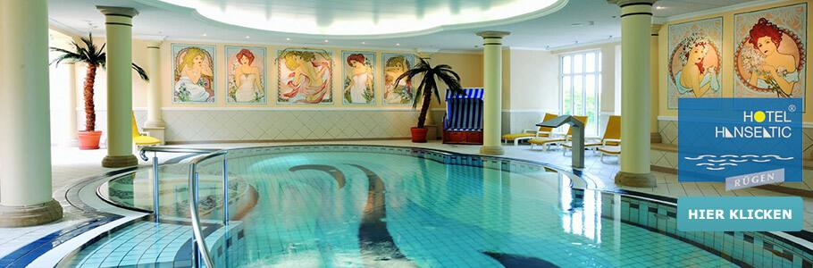 Wellness, Innenpool, Hotel Hanseatic Rügen