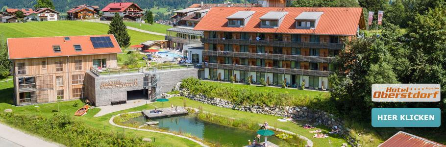 Wellness, Hotel Oberstdorf, Alpen, Berge, Natursee