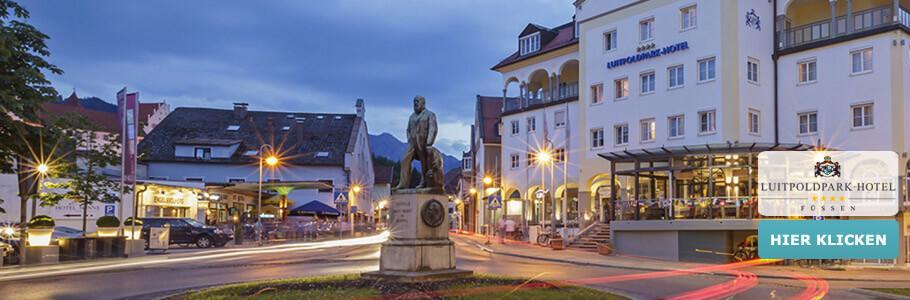 Luitpoldpark-Hotel, Wellness, Füssen, Aussenansicht