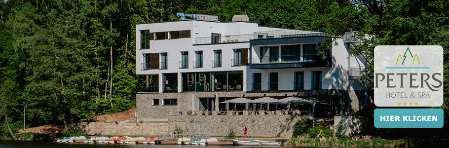 Wellness, Außenansicht, PETERS Hotel & Spa, See