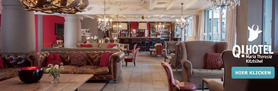 Q! Hotel Maria Theresia, Wellnesshotel, Lounge