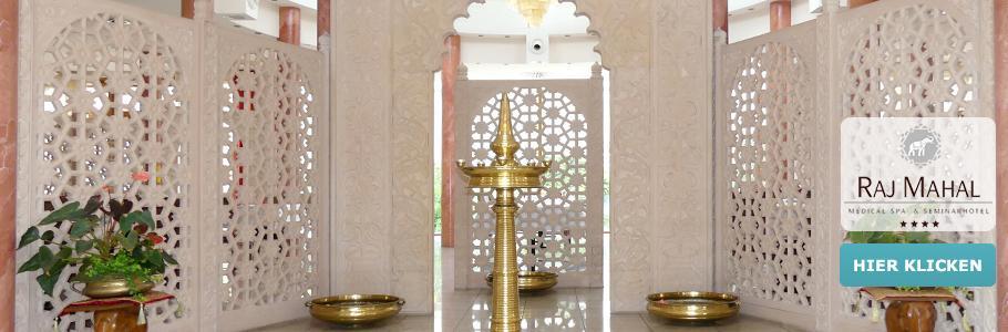 TOP Raj Mahal Hotel, Wellness, Indien, Flair