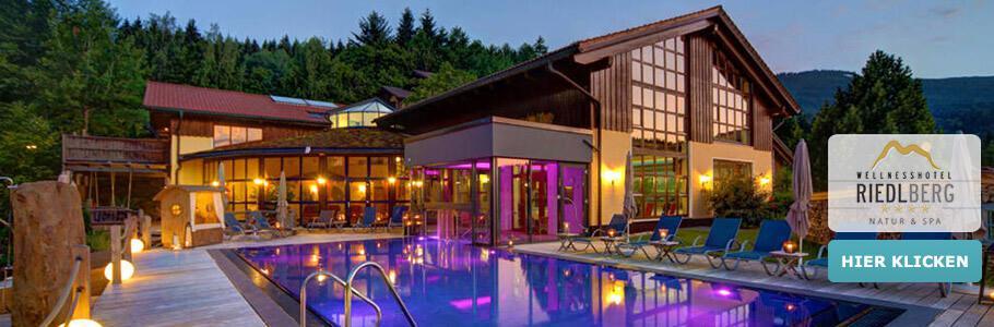 Wellness, Außenpool, Sport- und Ferienhotel Riedlberg