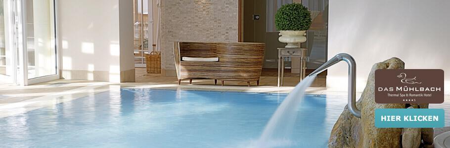"Wellness, Innenpool, Thermal Spa & Romantik Hotel ""Am Mühlbach"""