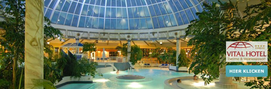 Vital Hotel Frankfurt, Wellness, Therme, Entspannung