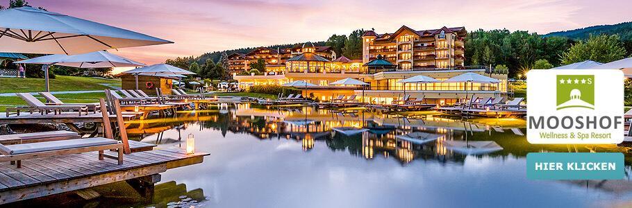 Wellness und Spa Resort Mooshof, Wasserwelt, See, Teich, Pool