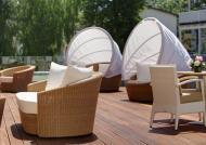 Hotel des Monats Oktober, Steigenberger Grandhotel und SPA, Terasse