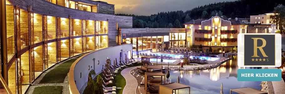 4-Sterne-Superior Wellnesshotel Reischlhof, Bayerischer Wald, Außenansicht